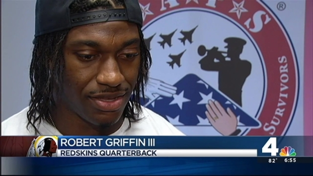 RGIII Makes $7,500 Gift to TAPS