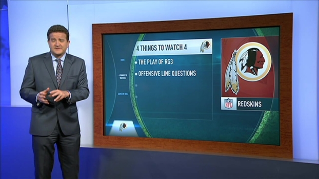 Redskins vs. Browns: 4 Things to Watch