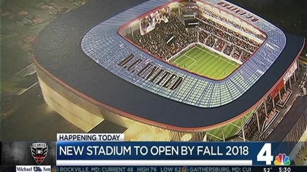 City Leaders to Break Ground on DC United Stadium
