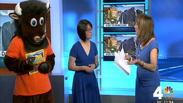 Celebrate National Kids to Parks Day With Buddy Bison