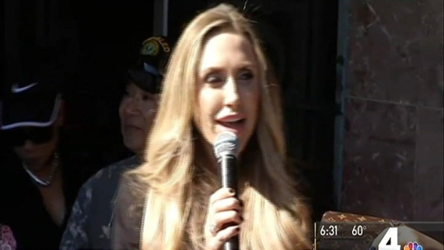 Trump's Daughter-in-Law Campaigns in Northern Virginia