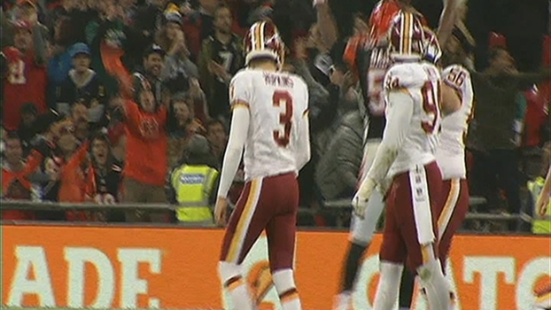Redskins' Royal Road Trip Ends in Tie
