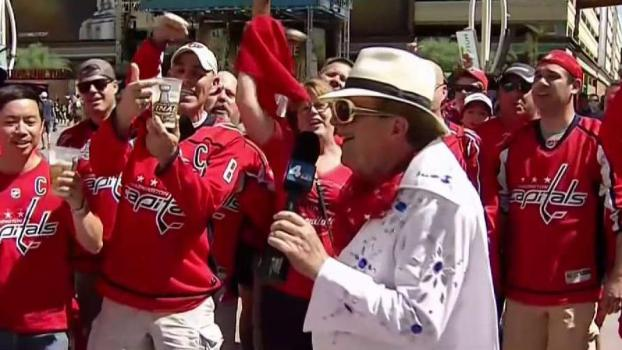 'We Want the Cup!': Caps Fans Charged Up in Vegas