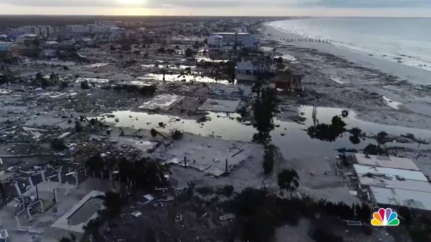 Footage Shows Mexico Beach Ripped Apart by Hurricane Michael