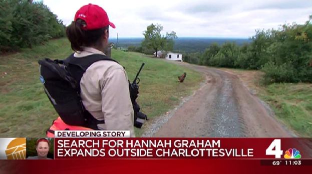 Hannah Graham Search Expands Outside Charlottesville