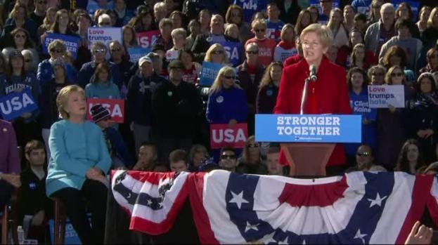 [NATL] Warren to Trump 'Nasty Women' Vote