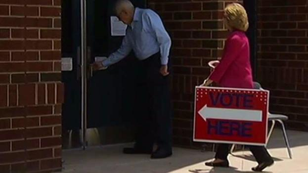 Voters Cast Ballots in Virginia Primaries