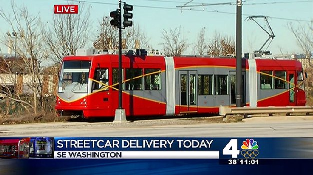 [DC] D.C.s First Streetcar to Arrive on H Street