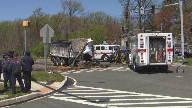 Dump Truck Driver, 85, Killed in Crash With Tractor-Trailer