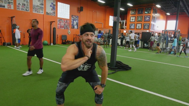 Johnny Bananas Gets A Dose of NFL Training From The Pros Themselves