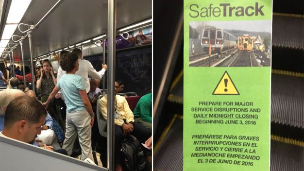 SafeTrack: When Will Your Area Be Affected?