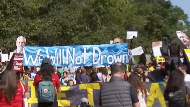 Climate Strikers Gather in DC to Demand Action