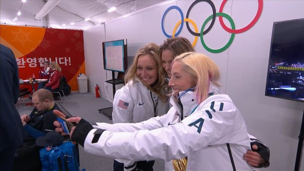 Go Behind the Scenes With Olympians From Around the World