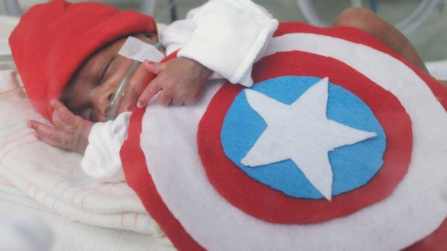 NICU Nurse Makes Adorable Costumes for Baby Patients