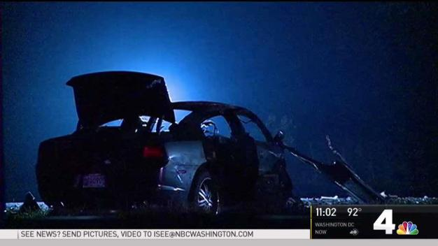 2 Men Killed After Wrong-Way Driver Collides With Car