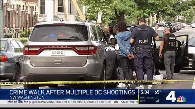 3 Shootings Over 3-Hour Span on Memorial Day in DC