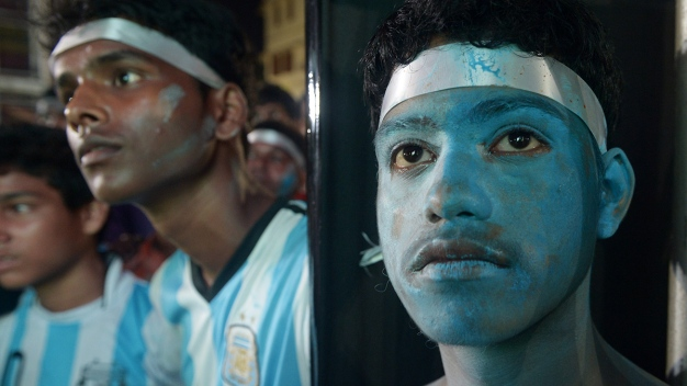 Argentines Hold Heads High After World Cup Loss