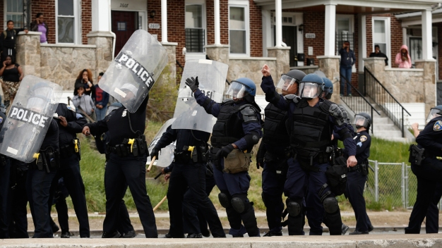 Justice Department Announces Probe of Baltimore Police}
