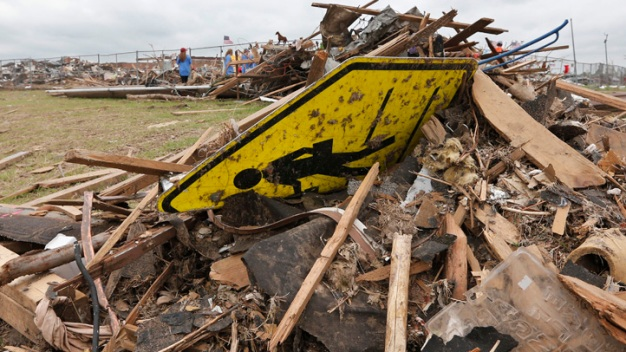 Tornado-Hit Okla. School Clears Rubble, Plans Rebuilding