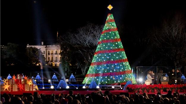 Road Closures for National Christmas Tree Lighting