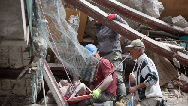 'Like Dante's Inferno': Italy Quake Death Toll Rises to 159