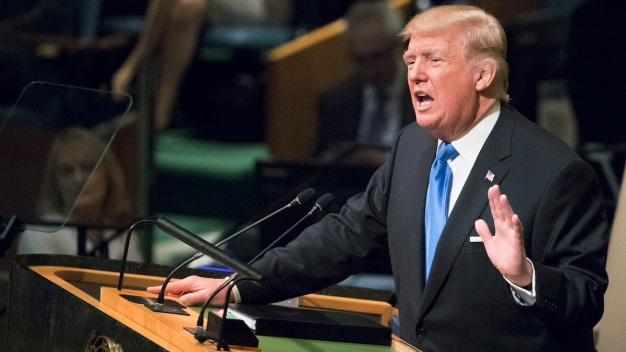 'America First': Read Trump's Full United Nations Speech