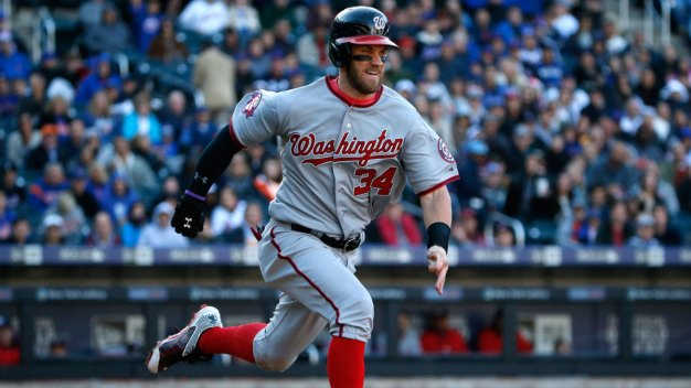 Nats' Bryce Harper Designs Cap to Raise Money for Charity