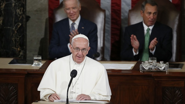 Pope to Congress: Act on Climate, Embrace Migrants