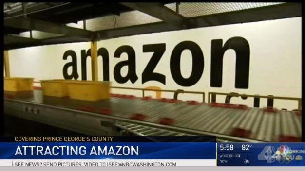 Amazon HQ in Prince George's? Officials Make Their Pitch