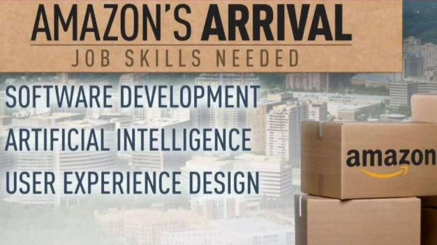 Amazon, Virginia Promise Tech Jobs Pipeline