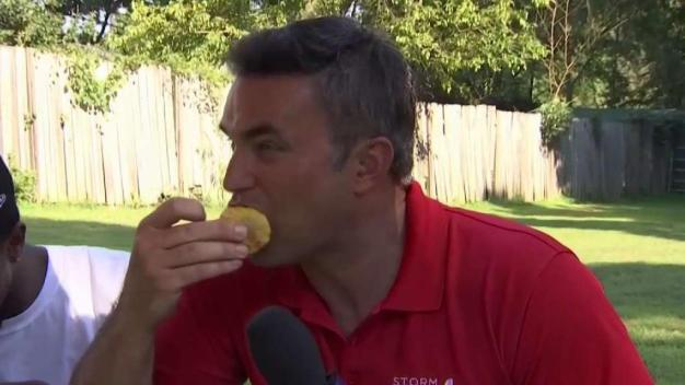 'Are We Actually on TV?' Fraizers Host Doug at Backyard BBQ