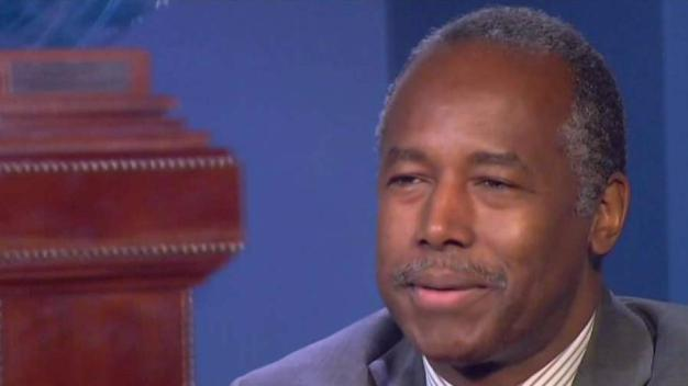 Ben Carson Says Anti-Trump Vandals Targeted Home