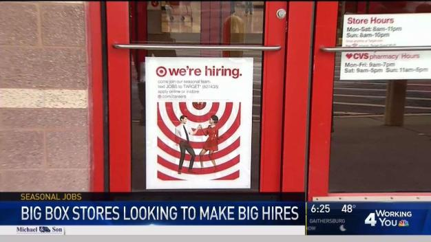 Big Box Stores Looking to Make Big Hires