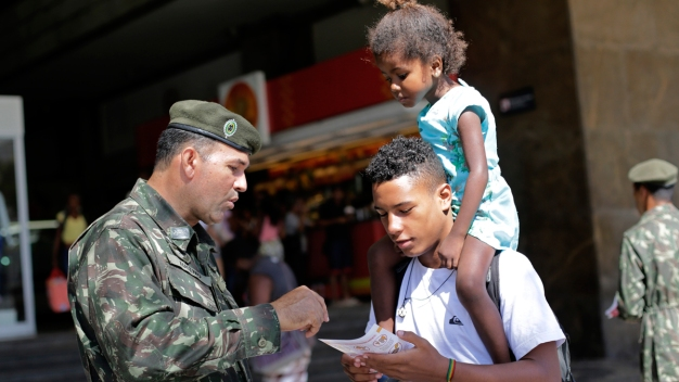 Troops Across Brazil Battle Zika Mosquitoes