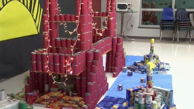 Broad Run High Wins Creative Canned Food Competiition