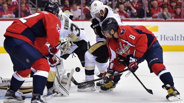 Capitals Lose Penguins 2-1 in Game 2