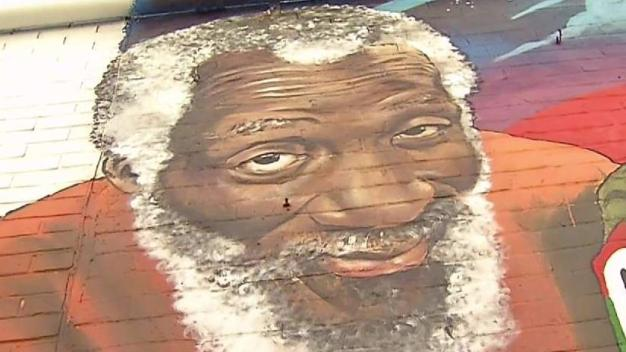Comedians at Ben's Mural Recall Dick Gregory's Impact