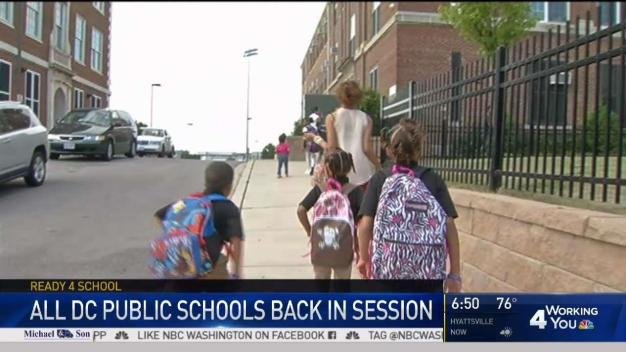DC Students Head Back to School
