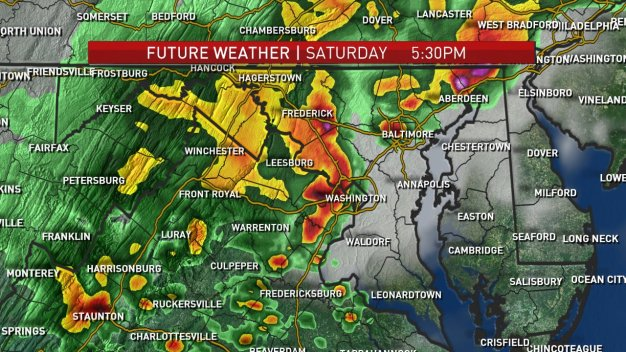Severe Storms Roll Through DC Area
