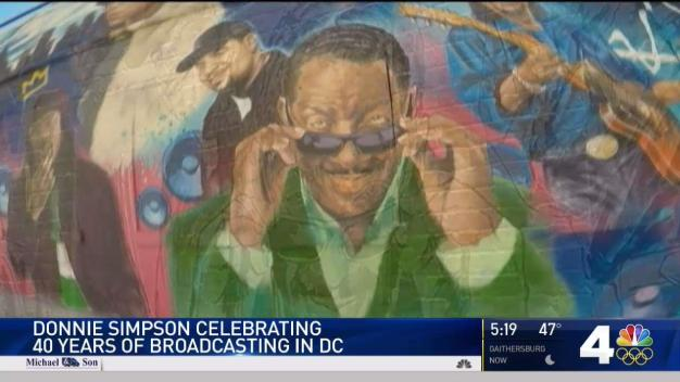 Donnie Simpson Celebrates 40 Years in DC