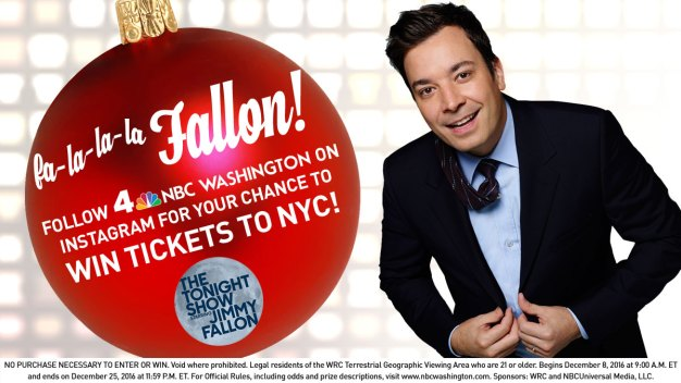 NBC4/The Tonight Show Starring Jimmy Fallon Tickets Sweepstakes