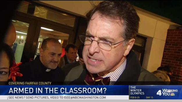 Fairfax Co. Teachers React to Proposal for Guns in Schools