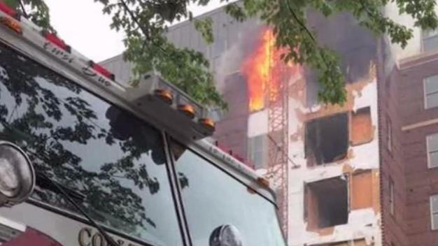 Fire Chief: Closed Valves, Access Hindered 5-Alarm Fire Response