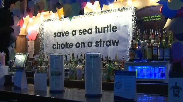 Garbage BARge Pop-Up Bar Celebrates DC's Plastic Straw Ban