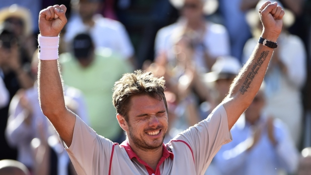 Wawrinka Tops Djokovic in French Final