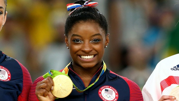 Simone Biles Helps Kids Get Fit