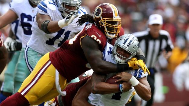 Suddenly Stumbling Vikings, Redskins Meet in Key NFC Matchup