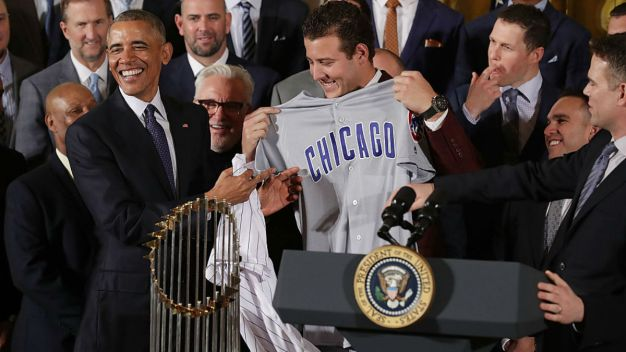 Obama Honors Victorious Cubs: 'Took You Long Enough'