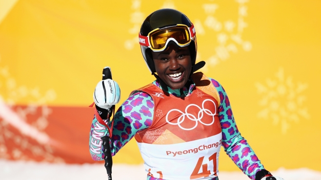 Kenya's First Olympic Alpine Skier Thrills in Debut