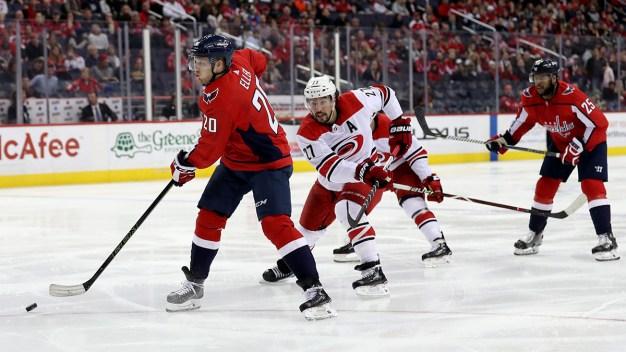 Capitals Beat Hurricanes 6-0 to Take 3-2 Series Lead
